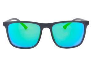 Lacoste Polarized Stripes and Piping Men/'s Square Sunglasses L781SP