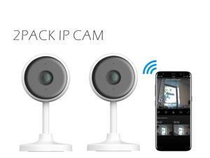 Deals on 2-Pack Eco4life 1080p indoor 2.4G WIFI Smart IP Camera