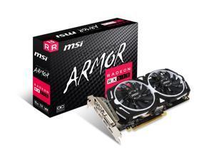 MSI Radeon RX 570 ARMOR 8G OC Graphics Card, PCI-E x16, VR Ready