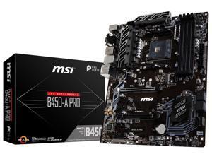 MSI B450-A PRO Socket AM4 AMD B450 SATAIII 6Gb/s USB3.1 ATX Motherboard