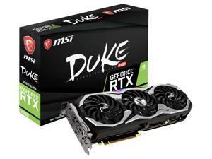 MSI GeForce RTX 2080 DUKE 8G OC Graphics Card, PCI-E x16, NVLink and VR Ready