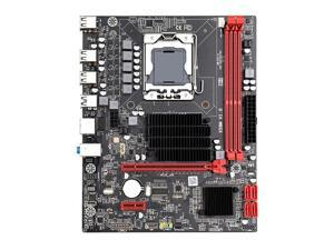 X58 LGa 1366 M-ATX Motherboard Dual Channel DDR3 32G RAM PCI-E 16X USB 2.0 SATa 2.0 Mainboard Support for LGa 1366 All Series CP