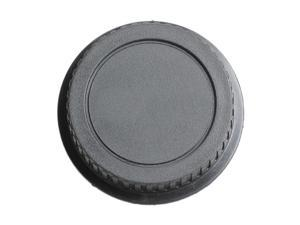 Rear Lens Body Cap Camera Cover Set Dust Screw Mount Protection Plastic Black Replacement for Canon EOS EF EFS 5DII 6D