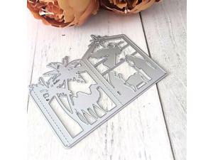 6X Easter Egg andRabbit Metal Cutting Dies For DIY Scrapbook Album Paper Card LX