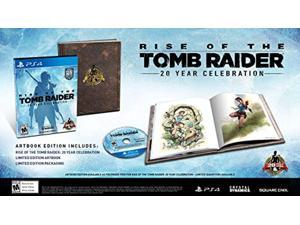 rise of the tomb raider 20 year celebration edition w/ art book - playstation 4