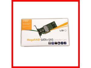 LSI 9286-8e MegaRAID SAS SATA 8 Port External ROC RAID Card Controller LSI00332 L5-25421 Broadcom (Retail Packed)