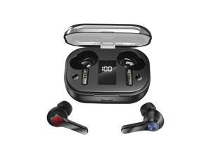 Wireless Earbuds,Nurbenn IPX7 Waterproof Bluetooth 5.0 Headphones with Mic, 230H Playtime with 7000mAh LED Charging Case, Touch-Control, HD Stereo Auto Pairing, TWS Sport Headphones for iOS Android