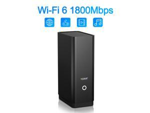 EDUP 1800Mbps WiFi Router Dual Band 2.4G/5Ghz AX1800M Gigabit Rate Wireless Internet Router With USB 3.0 WLAN LAN Ethernet
