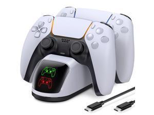 Charger For PS5 Controller Dual Fast Type C Charging Cable Dock Station For Sony Playstation 5 Game Joystick For PS5 Accessories