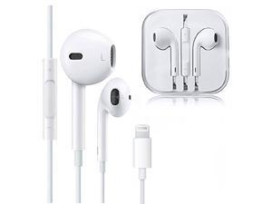 Lightning Earphones,With Microphone Earbuds Stereo Headphones-and Noise Isolating headset Made for iPhone 7/7 Plus iPhone8/8Plus iPhone X Earbuds