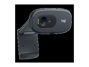 Logitech C270 HD Webcam C270 720P 500W 3MP USB 2.0 Widescreen Video Calling and Recording