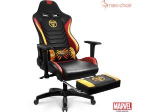 ARC - Marvel Gaming Racing Computer Office Chair (Iron Man) - Reclining Gaming Ergonomic Gaming Chair w/ Footrest