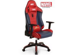 MARVEL Avengers Spider-Man Big & Wide Heavy Duty 400 lbs Gaming Chair Office Chair Computer Racing Desk Chair Red Blue - Endgame & Infinity War Series, Marvel Legends - RAP Spider-Man