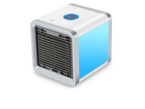 IQTIMES Arctic Air Personal Space Cooler, Portable Air Conditioner, Humidifier and Purifier, Desktop Cooling Fan with 3 Speeds and 7 Colors LED Night Light for Office Home Outdoor Travel
