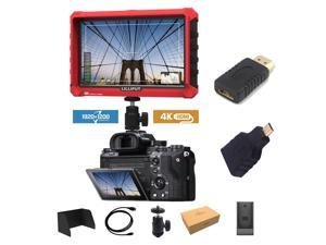 """Lilliput A7S 7"""" 1920x1200 IPS Screen Camera Field Monitor 4K 1.4 HDMI Input output Video For DSLR Mirrorless Camera SONY A7S II A6500 Panasonic GH5 Canon 5D Mark IV by LILLIPUT OFFICIAL SELLER VIVITEQ"""