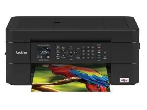 Brother MFC-J497DW Compact, Wireless Color Inkjet All-in-One Printer with Auto