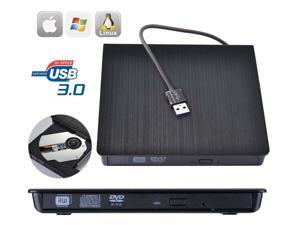 USB 3.0 External DVD Drive Portable External Optical Drive CD DVD RW ROM Player