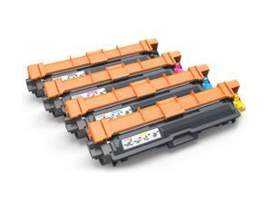 4 Pack TN221 TN225 Toner For Brother HL3170CDW Wireless Color Laser Printer