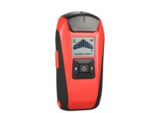 Multifunctional Handheld LCD Wall Stud Finder Metal Wood Studs AC Cable Live Wire Scanner Detector Tester