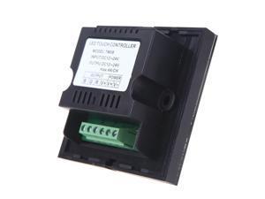 Touch Panel LED Dimmer Controller for 5050/3528 RGB LED Strip Light 12-24V Black