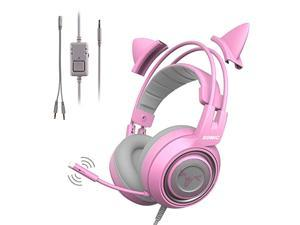 SOMIC G951 USB Headset Gaming Stereo Headphones with Microphone and LED light For PS4 PC Video Games