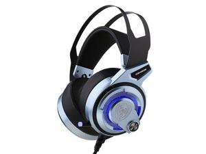 SOMIC G949DE LED Virtual 7.1 Surround Sound PS4 LOL Gaming Headset, USB Noise Cancelling Headphones with 4 Speakers