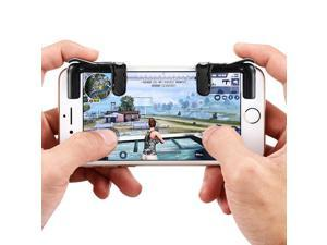 gocomma Pair of Mobile Game Controllers Sensitive Shoot and Aim Buttons for PUBG / Rules of Survival / Knives Out Phone Game Joystick