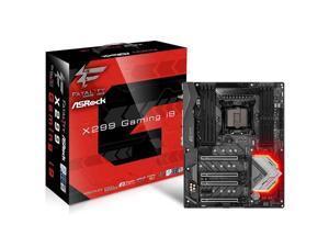 ASRock X299 PROFESSIONAL GAMING I9 LGA2066/ Intel X299/ DDR4/ Quad CrossFireX & Quad SLI/ SATA3&USB3.1/ M.2/ WiFi/ A&3GbE/ ATX Motherboard