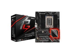 ASRock X399 PHANTOM GAMING 6 Socket TR4/ AMD X399/ DDR4/ Quad CrossFireX & Quad SLI/ SATA3&USB3.1/ M.2/ A&2GbE/ ATX Motherboard