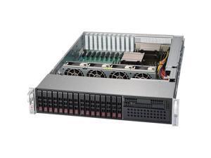 Supermicro SuperChassis CSE-213XAC-R1K05LP 800/1000W 2U Rackmount Server Chassis (Black)