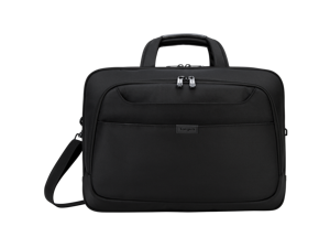 """Targus 17"""" Blacktop Deluxe Checkpoint-Friendly Briefcase with DOME Protection - TBT275"""