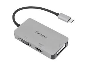 Targus USB-C Single Video Adapter with 4K HDMI/DVI/ VGA - ACA961USZ