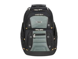 "Targus 17"" Drifter II Laptop Backpack (Black/Gray) - TSB239US"