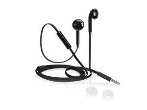 iStore Classic Fit Earbuds (Glossy Black) - AEH03610CAI