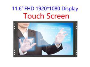 12 inch Industrial Display Touch Monitor 1920*1080 FHD IPS Open Frame 12 inch Touch Screen Capacitive with VGA/HDMI Speakers