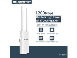 Original Comfast CF-EW72 1200Mbps 2.4G 5Ghz Outdoor Coverage Access Point AP WiFi Router Repeater Wireless Bridge