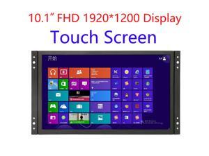 10 inch Industrial Display Touch Monitor 1920*1200 FHD Wide View Open Frame Capacitive Touch Screen 10.1 inch Touch Display with VGA/HDMI Speakers