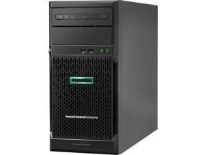 HPE ProLiant ML30 Gen10 Tower Server, Intel Xeon E-2124 Quad-core 3.30 GHz CPU, 8 GB DDR4, RAID