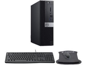 Dell OptiPlex 7070 SFF High Performance Desktop Computer Bundle with Intel Core i7-9700 3GHz 8-core CPU, 32GB RAM, 500GB SSD, Keyboard, Mouse, Mouse pad, Windows 10 Pro