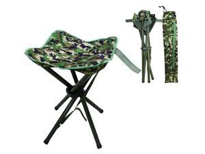 Outdoor Folding Stool Slacker Chair, Lightweight Foot Rest Seat, for Camping Fishing Hiking Mountaineering Travel Outdoor Recreation with Carrying Bag