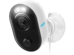 Reolink Spotlight LED 1080P HD Outdoor WiFi Security IP Camera Lumus, PIR Motion Alert, 2-way Audio and Siren Alarm, SD Card Slot
