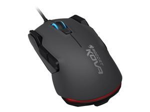 ROCCAT Kova Pure Performance 7000DPI Optical Gaming Mouse, 1.8m, Black (ROC-11-502)