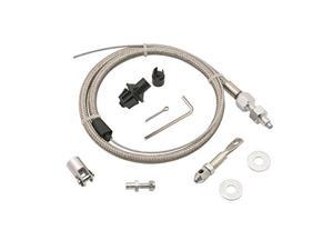 Mr. Gasket Steel Braided Throttle Cable Kit