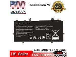 For Asus VivoBook Flip TP401C 14 TP401NA TP401 Battery C21N1714 0B200-02740000
