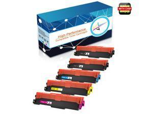 5PK  L3750 Toner Cartridge With Chip For Brother HL-L3210 L3230 MFC-L3710  TN227