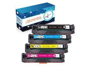 4pk Color Black M281fdn  Laser Toner Set for HP LaserJet Pro MFP M281cdw CF500A