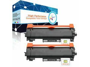 2 PK TN-730 DCP-L2550DW  Toner Cartridge for Brother HL-L2350DW HL-L2370DW TN760