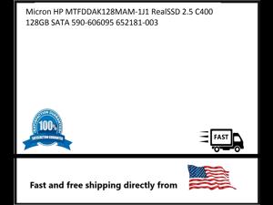 Micron HP MTFDDAK128MAM-1J1 RealSSD 2.5 C400 128GB SATA 590-606095 652181-003