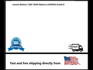 Lenovo Battery 7.68V 76Wh Battery L15M4P23 Grade B
