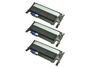 3 PK CLT-K406S K406 Black Toner for Samsung CLX-3302 3303 3304 3305 C410 413w